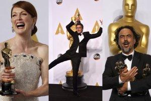 """Oscary 2015: Ogromny sukces Polak�w, a triumfatorem wieczoru by� """"Birdman"""". Moore i Redmayne najlepszymi aktorami"""