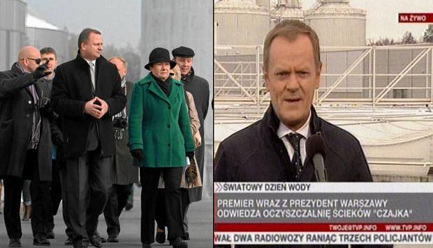 """Premier otworzy� oczyszczalni�. """"Bo ludzie nie wierz�, �e dzia�a"""""""