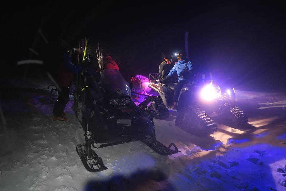 Dwoje turystów uratowali w sobotę, 16.12.2017 r., ratownicy z GOPR Karkonosze