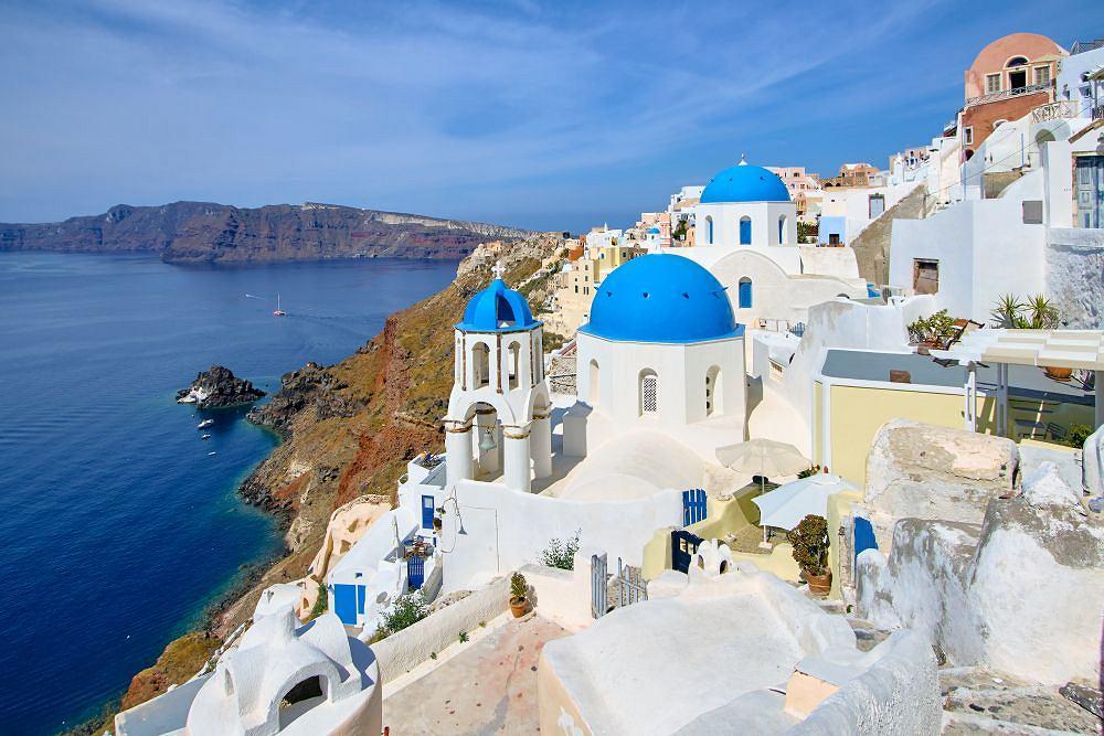 grecka wyspa Santorini