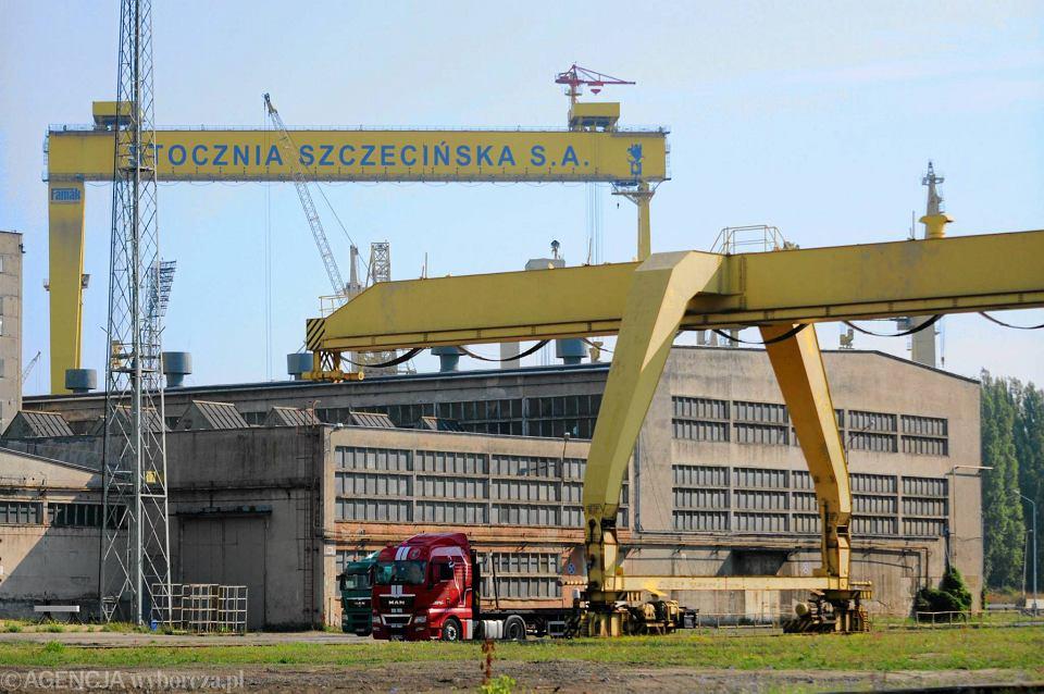 Suwnice na terenie SPP. Prawo do nazwy 'Stocznia Szczecińska' ma wciąż niedziałająca spółka Stocznia Szczecińska SA