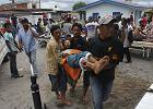 Trz�sienie ziemi w Indonezji. 22 ofiary