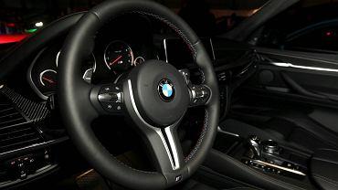 Wnętrze BMW. Zdjęcie ilustracyjne