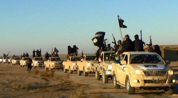 Bojownicy Pa�stwa Islamskiego