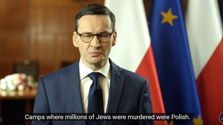 Mateusz Morawiecki w orędziu. Na YouTube pojawił się błąd w tłumaczeniu