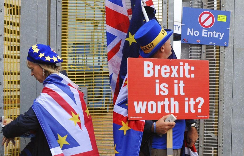 Brexit - protest