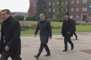 Prezydent Duda zaczął dzień od modlitwy przy sarkofagu Lecha Kaczyńskiego
