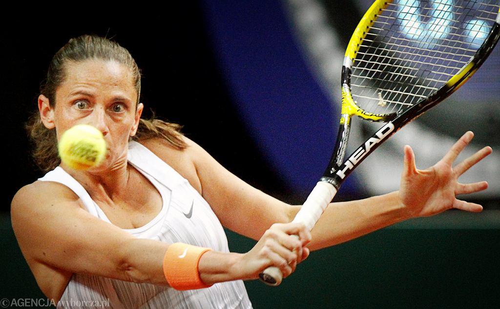 Roberta Vinci odpadła z turnieju BNP Paribas Katowice Open
