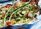 Zapiekanka z rybą i cukinią - Zdjęcia