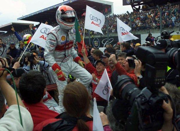 Meta wyścigu 24h Le Mans 2001