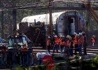 Osiem ofiar �miertelnych wypadku poci�gu w Filadelfii