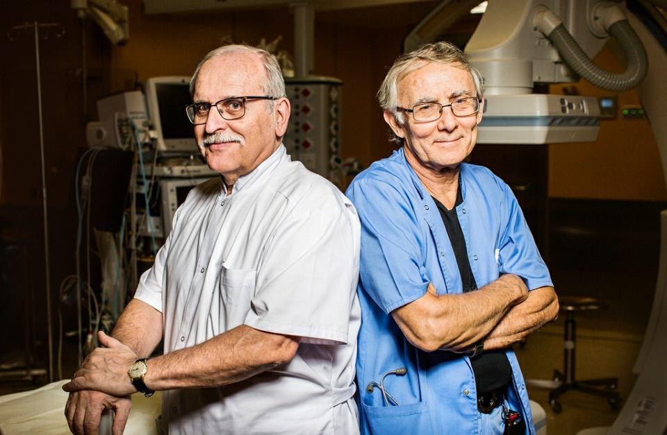 Od lewej: prof. dr hab. n. med. Janusz H. Skalski i prof. dr. hab. n. med. Andrzej Rudziński
