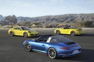Porsche 911 Carrera 4 i Targa 4 | Liftingu ciąg dalszy