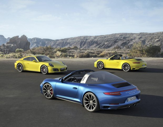 Porsche 911 Carrera 4 i Targa 4 | Liftingu ci�g dalszy