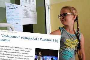 """""""Dudapomoc"""" pomogła mamie Asi z Poznania. Pani Anna dostanie wsparcie od państwa"""