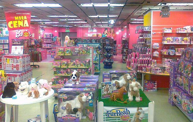 Zdjęcia ze sklepu z zabawkami