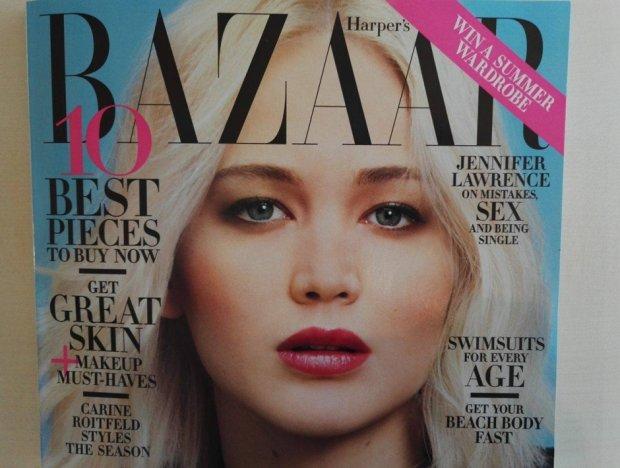Drobna zmiana - jak polski magazyn ocenzurował Jennifer Lawrence