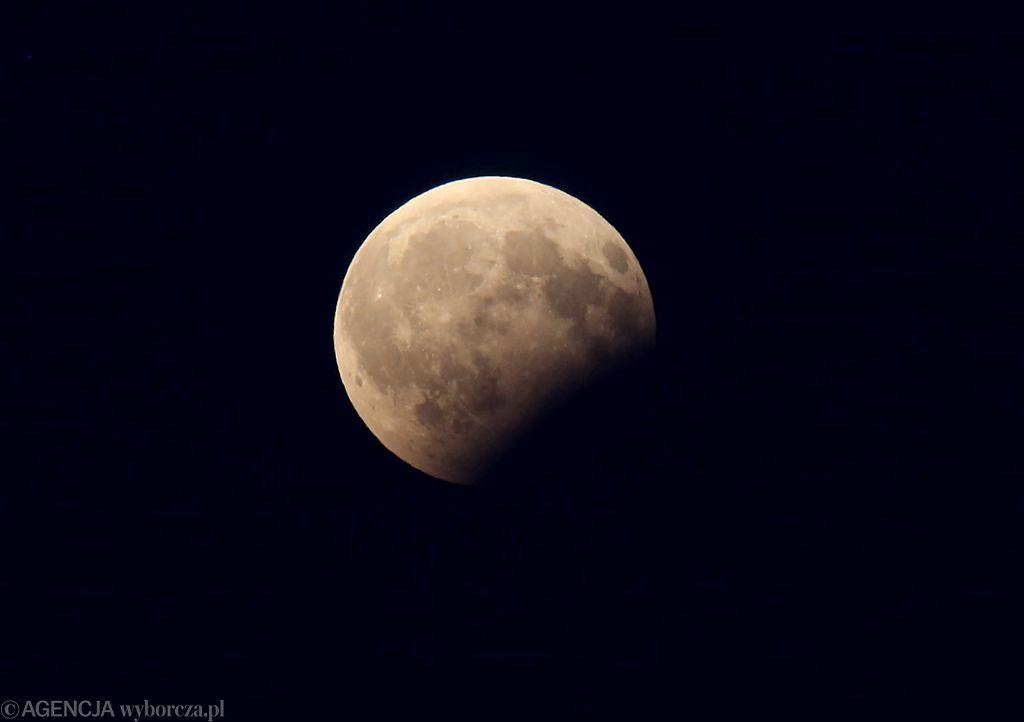 Częściowe zaćmienie Księżyca