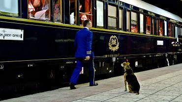 Orient Express na dworcu w Warnie, 6 września 2011 roku
