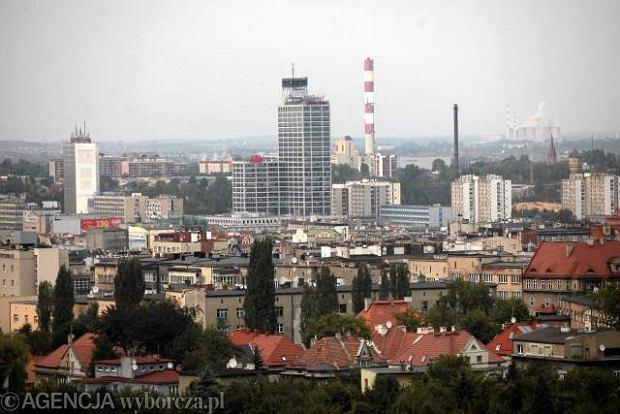 Panorama �r�dmie�cia Katowic