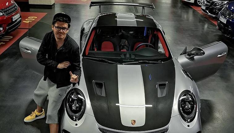 Porsche 911 GT2 RS Kuby Wojewódzkiego