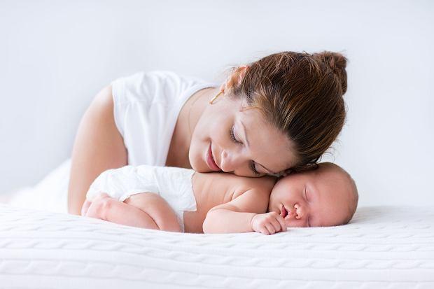 Matka uzależnia się od zapachu swojego dziecka