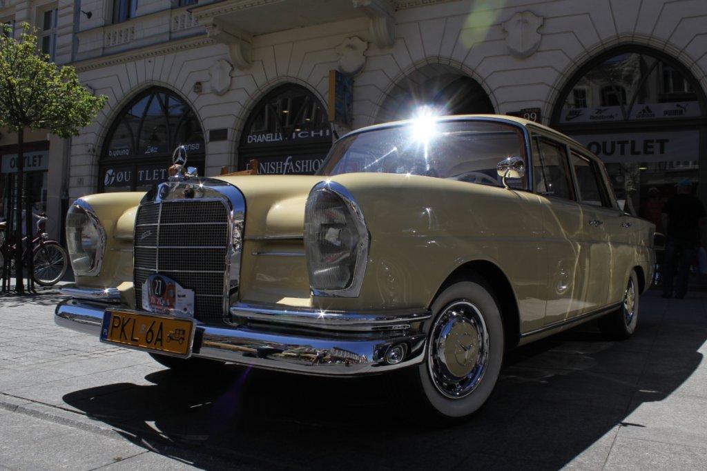 StarDrive 2015   Zlot Klubu Zabytkowych Mercedesów w Łodzi