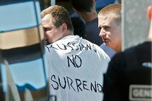 Trzej rosyjscy kibole skazani na karę więzienia za uliczne walki w Marsylii