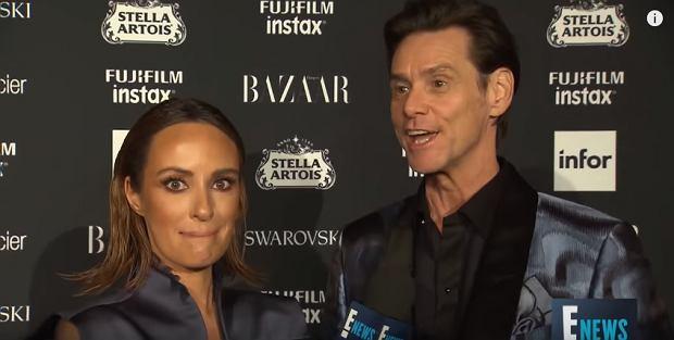 Jim Carrey zszokował dziennikarkę, udzielając nietypowego wywiadu...