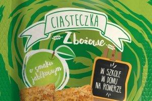 Nowe kruche ciasteczka zbożowe marki KUPIEC - bananowe, truskawkowe i jabłkowe - w pakietach po 5 paczek. Edycja limitowana!