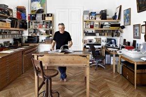Wn�trza pe�ne sztuki - z wizyt� u Andrzeja Dudzi�skiego