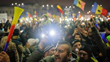 Niedzielna demonstracja w Bukareszcie