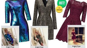 2080938805 Sukienki na imprezę od Sugarfree - gotowe propozycje stylizacji w 3  odsłonach