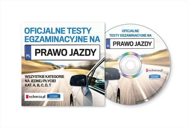 """Testy egzaminacyjne na prawo jazdy z """"Gazetą Wyborczą"""""""