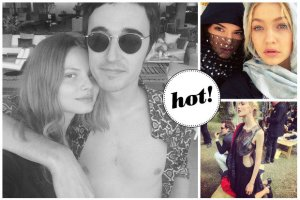 Magdalena Frąckowiak spędziła sylwestra z ukochanym Daniele Cavallim, a Kendall Jenner bawiła się z innymi modelkami w Dubaju [INSTAGRAM]