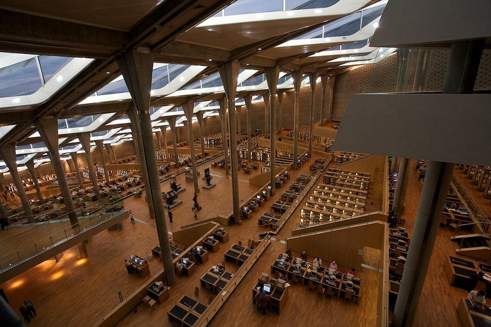 Bibliotheca Alexandrina / Fot. CarstenW, Wikimedia CC BY 3.0.