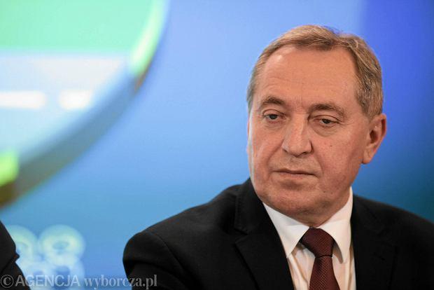 Szef Komitetu Sta�ego Rady Ministr�w Henryk Kowalczyk