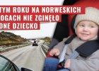 W tym roku w Norwegii w wypadku drogowym nie zgin�o jeszcze �adne dziecko