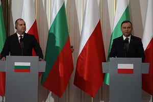 Prezydent Bułgarii domagał się w Warszawie zniesienia sankcji nałożonych na Rosję. To kolejny cios w Trójmorze