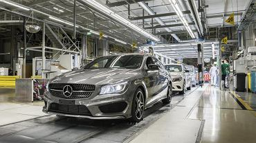 W fabryce niemieckiego koncernu Daimler w węgierskim mieście Kecskemét rozpoczęto seryjną produkcję auta Mercedes Benz CLA Shooting Brake