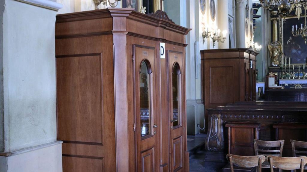 Klimatyzowane konfesjonały w Kalwarii Zebrzydowskiej