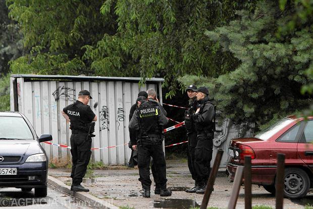 Postrzelonym na Oporowie jest z�odziej samochod�w