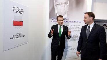 """Andrzej Duda w """"muzeum Komorowskiego"""""""