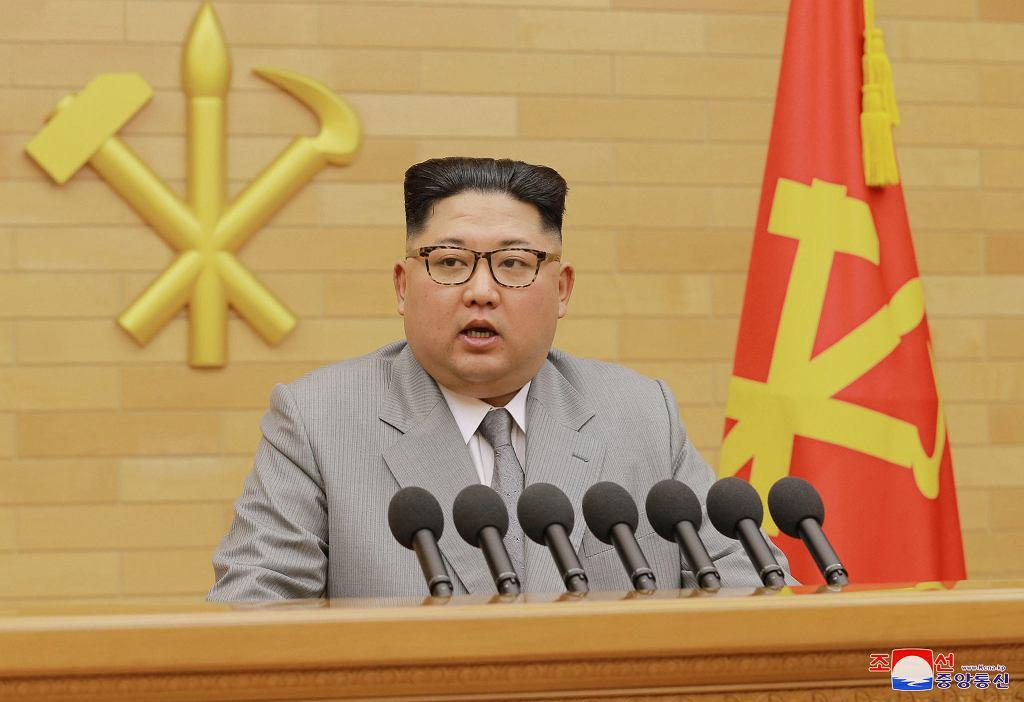 Przywódca Korei Północnej Kim Dzong-Un