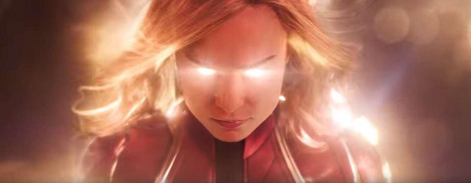 Brie Larson w zwiastunie filmu 'Kapitan Marvel'