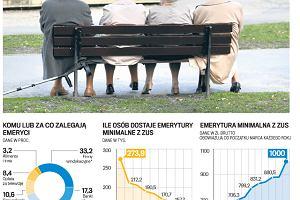 Emerytura minimalna. Kto dostanie 1000 zł, a kto mniej? Niekorzystne wyliczanie stażu i waloryzacja