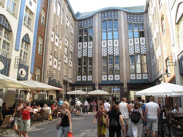 Berlińskie podwórka w Hackescher Markt
