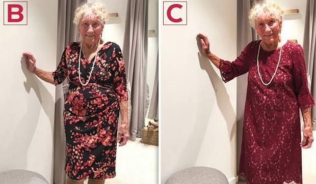 A, B, C, D? 93-latka poprosiła o pomoc internautów w wyborze... sukni ślubnej [ZDJĘCIA]