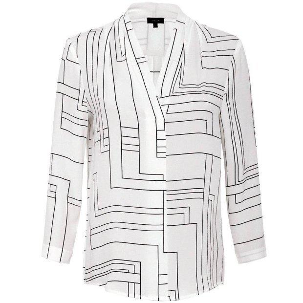 Zdjęcie numer 20 w galerii - Modne koszule na jesień: klasyczne, wzorzyste, z kokardą