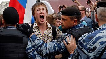 Demonstracja w Rosji